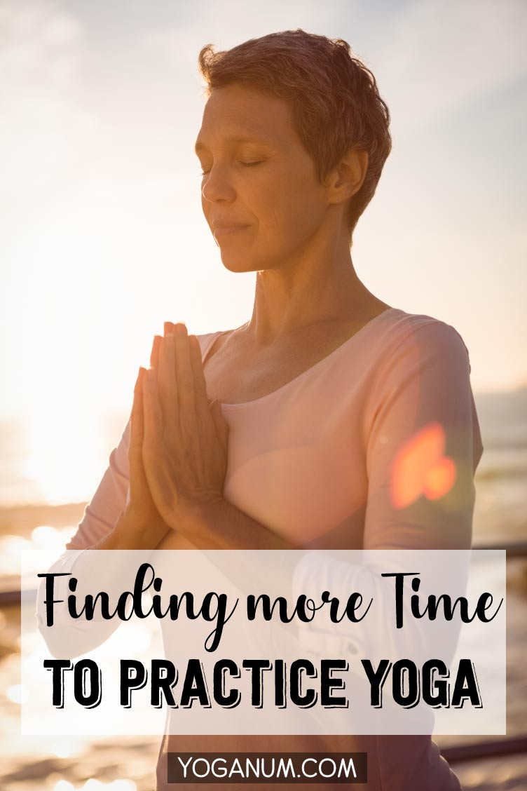 Finding more time to do yoga